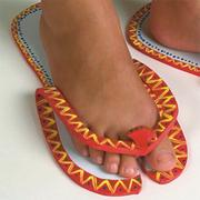 Painted Flip Sandals Craft Kit (makes 12)