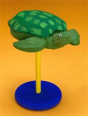Carved Wood Turtle Craft Kit (makes 12)