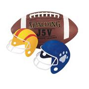 Color-Me Football Helmets Craft Kit (makes 12)