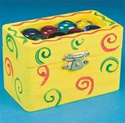 Small Wooden Boxes Craft Kit (makes 12)