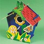 Wooden Birdhouse Craft Kit (makes 12)