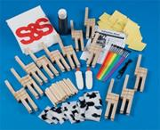 Clothespin Gazelle Craft Kit  (makes 12)