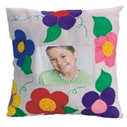 Color-Me Canvas Pillow Cover Craft Kit (makes 12)