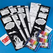 Color-Me��Frog Life Cycle Jumbo Learn 'N Grow� Craft Kit (makes 12)
