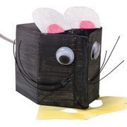 Milk Carton Mouse Craft Kit  (makes 12)