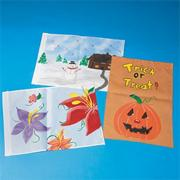 Color-Me Mini Flags Craft Kit (makes 12)