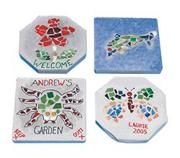 Mosaic Stepping Stone Craft Kit  (makes 6)