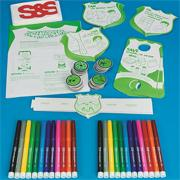 GreenForcers Craft Kit 2 (makes 12)