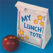 Color-Me GreenForcers Lunch Tote Craft Kit (makes 12)