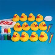 Rubber Ducks Craft Kit (makes 12)