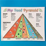 My Food Pyramid Craft Kit (makes 12)