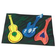 3-D Guitars Craft Kit (makes 12)
