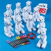 Color-Me Bears Craft Kit (makes 12)