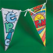 Color-Me� Banner Craft Kit (makes 12)