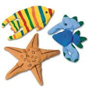 Color-Me Ocean Creatures Craft Kit (makes 12)