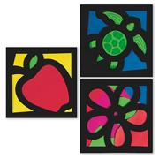 Stained Glass Frames Craft Kit (makes 12)