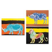 African Animals Reveal Craft Kit (makes 36)