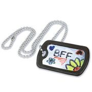 Dog Tag Necklaces Craft Kit (makes 12)