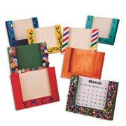Perpetual Wood Calendar Craft Kit (makes 12)