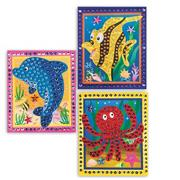 Dolphin, Fish and Octopus Craft Kit (makes 12)