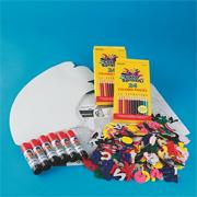 Color-Me Spirit Megaphone Craft Kit (makes 30)