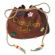 Chanukkah Gelt Bag&lt;Lead-in_NewGP&gt; &lt;/Lead-in_NewGP&gt;Craft Kit (makes 12)