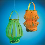 Sukkot Paper Lanterns Craft Kit (makes 40)