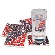 Mosaic Coaster Craft Kit (makes 4)