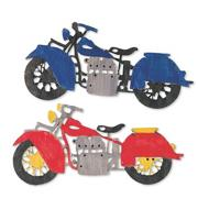 Unfinished Wood Motorcycle Craft Kit (makes 12)