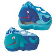 Plaster Whale Box Craft Kit (makes 12)