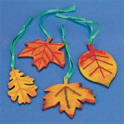 Wood Leaves Craft Kit (makes 48)