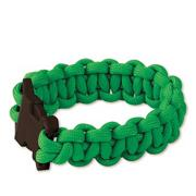 Assorted Neon Parachute Cord Bracelet Craft Kit (makes 24)