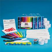 Color-Me Slap Bracelet Craft Kit (makes 48)
