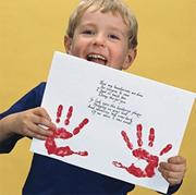 Handprint Poem Craft Kit (makes 30)