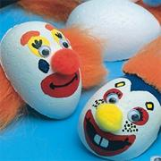 Clown Face Magnets Craft Kit (makes 24)