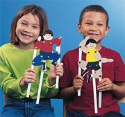 Playful Puppet People Craft Kit (makes 24)