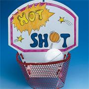 Hot Shot Basketball Craft Kit (makes 50)