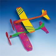 Neon Propeller Planes Craft Kit (makes 12)