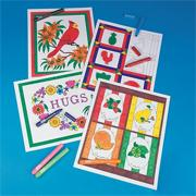 Color-In Posters Craft Kit (makes 12)