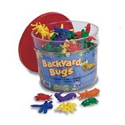 Backyard Bugs Counters in Good Job Jar (jar of 144)