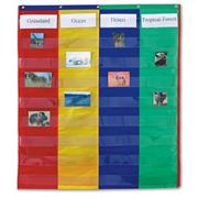 2- & 4-Column Double-Sided Pocket Chart
