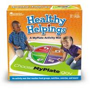 Healthy Helpings� MyPlate Activity Mat