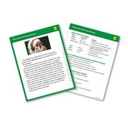 Reading Fluency Card Set, Grade 4