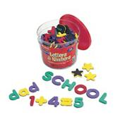 Magnetic Foam Letters &amp; Numbers Deluxe Set