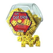 HANDS ON SOFT DOT DICE BUCKET