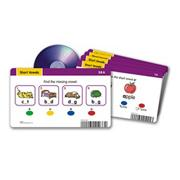 Radius Reading CD Card Sets: Short Vowels