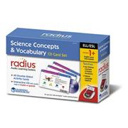 Radius Reading &amp; ELL CD Card Sets: Science Concepts &amp; Vocabulary (Intermediate)
