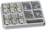 Deluxe Coins & Bills Set (set of 750)