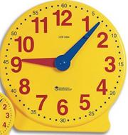 13-1/4&quot; Demonstration Clock
