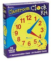 Big Time Classroom Clock Kit